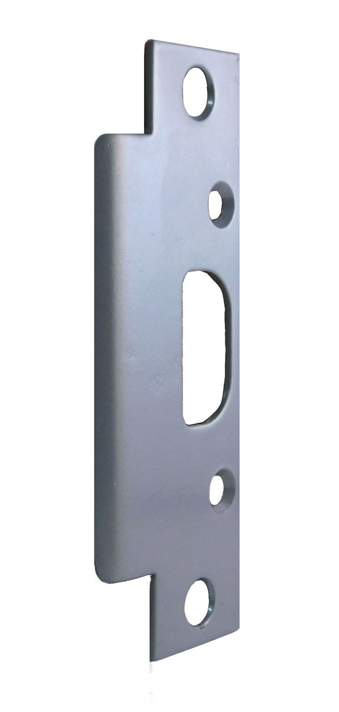 Pack of 10 Don-Jo Series-18 13 Gauge Steel Mortise Hole Version Armor Strike White 1-3//4 Width x 18 Height