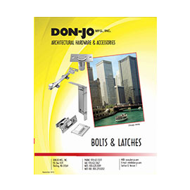 bolts and latches